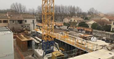 Travaux : Construction École Nicaise – 25/02/21
