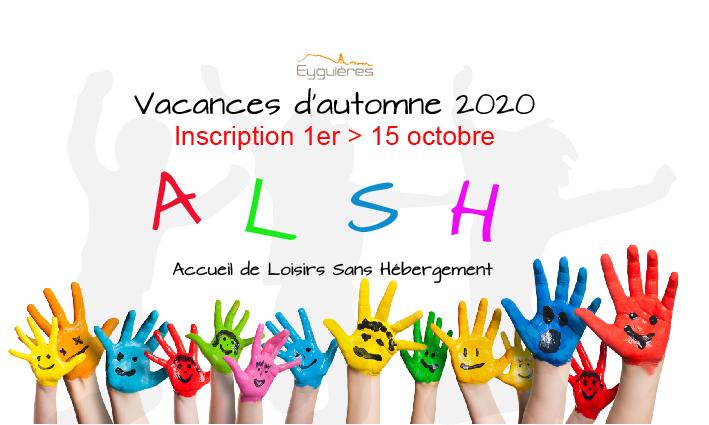 INSCRIPTION ALSH VACANCES D'HIVER 2021 – 01/02/2021
