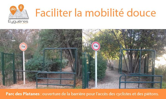 MOBILITÉ DOUCE – Parc des Platanes – 16/03/21