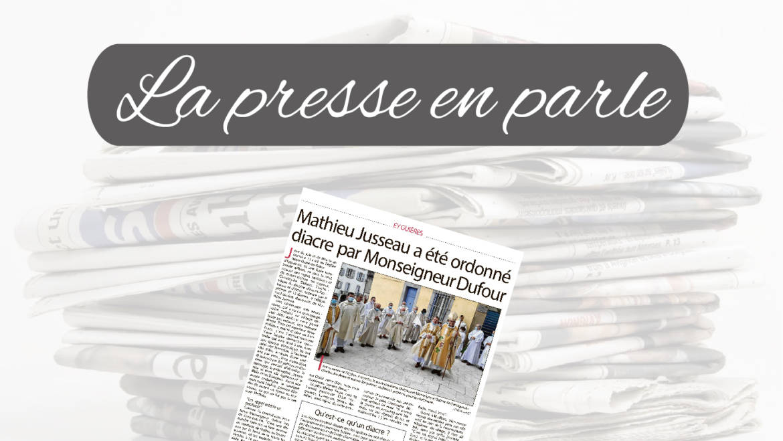 La Presse en parle <br> 17/04/21