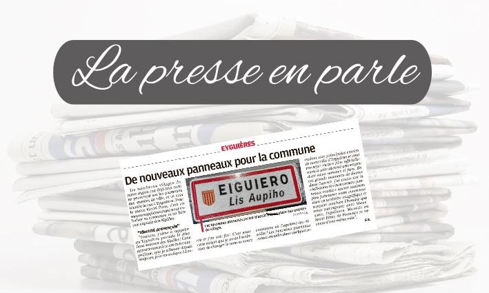 La Presse en parle  <br>  22/01/21
