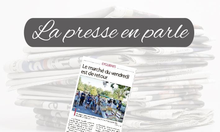 La Presse en parle <br> 23/04/21