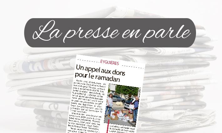 La Presse en parle <br> 28/04/21