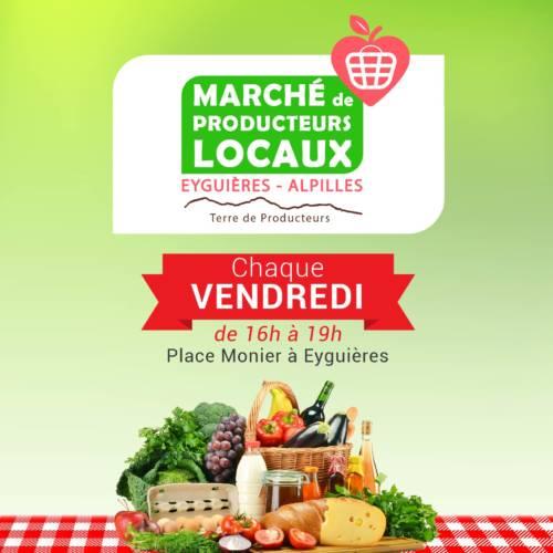 Marché des producteurs locaux - Eyguières