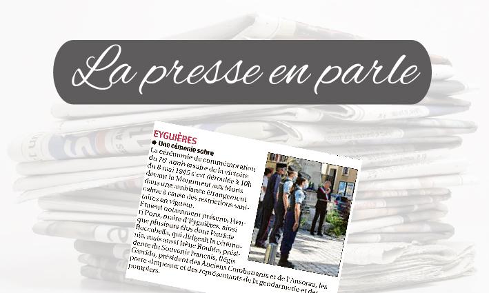 La Presse en parle <br> 12/05/21