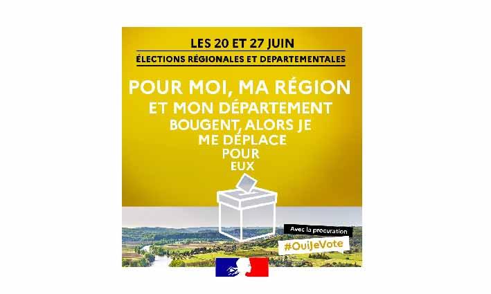 Élections 2021 <br> 19/06/21