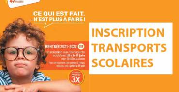 TRANSPORTS SCOLAIRES <br> 26/07/21