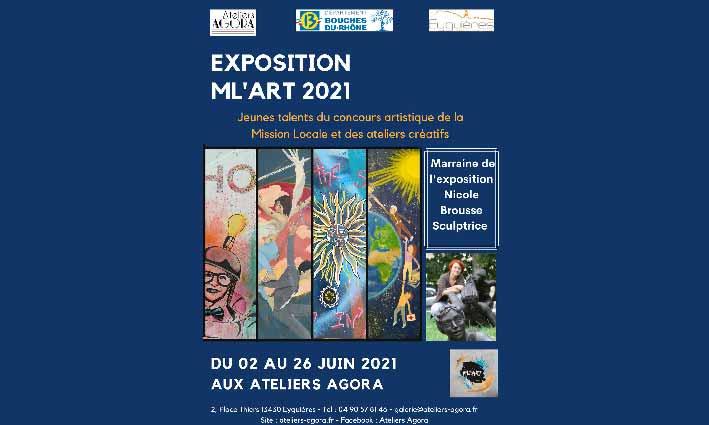 EXPOSITION ML'ART 2021<br> 02/06/21