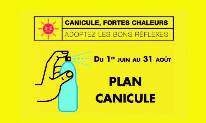 Canicule – Les bons gestes <br> 23/07/2021
