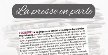 La Presse en parle <br> 17/09/21