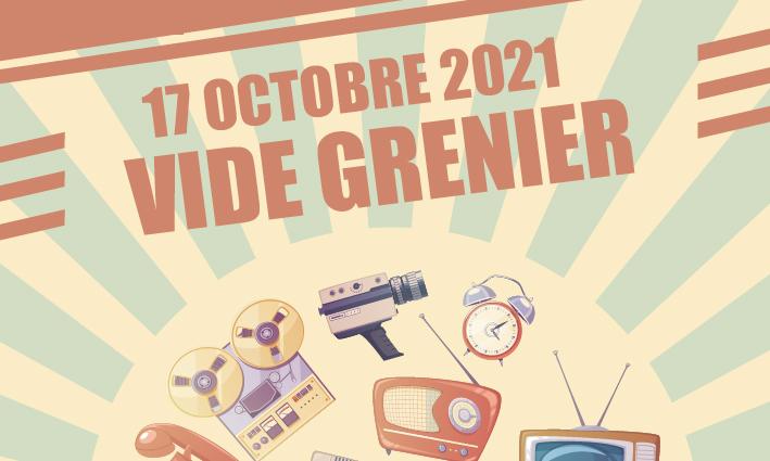 Vide Grenier – Inscription <br> 20/09/21